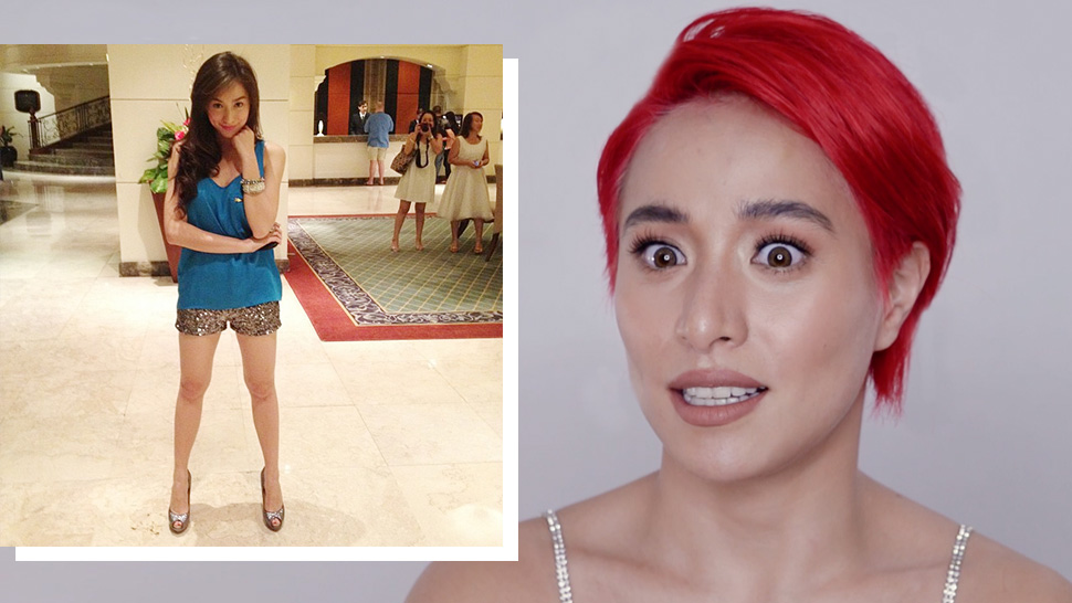 You Need To Watch Cristine Reyes React To Her Old Outfit Photos