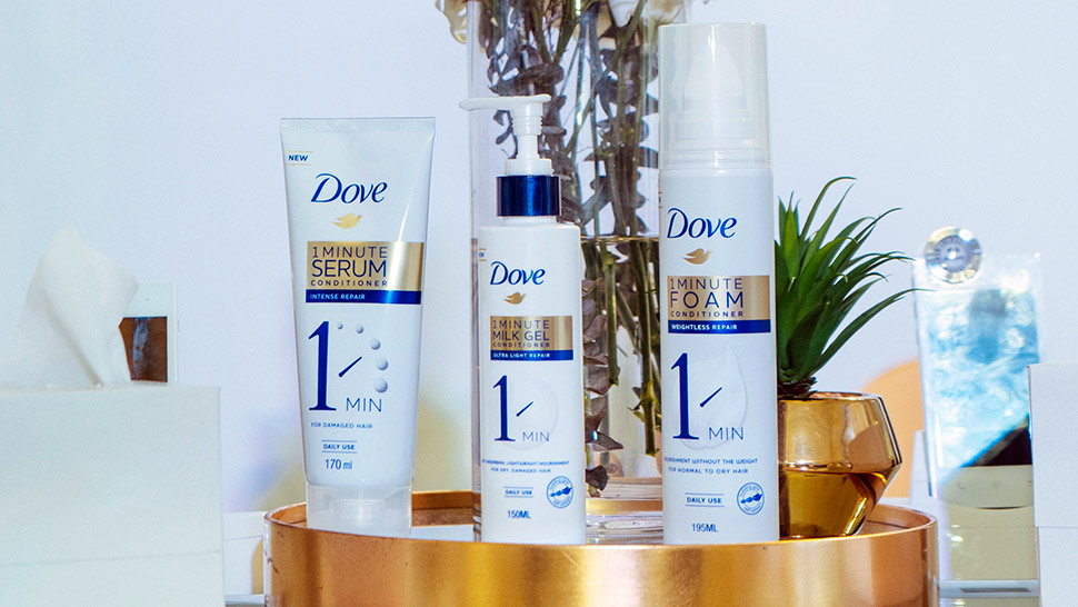 Review: We Tried Dove's 1-Minute Conditioners and Here's What We Think