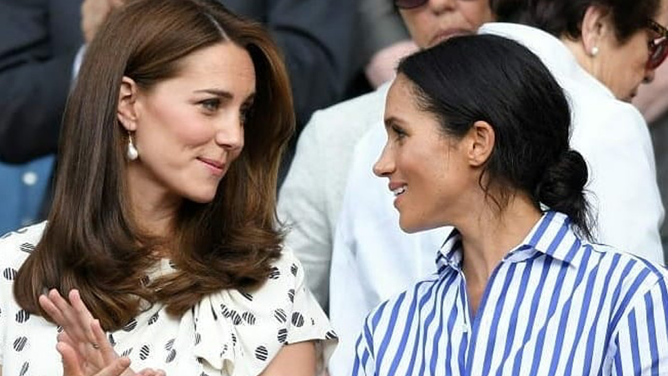 These Are The Jewelry Pieces Kate And Meghan Inherited From Princess Diana