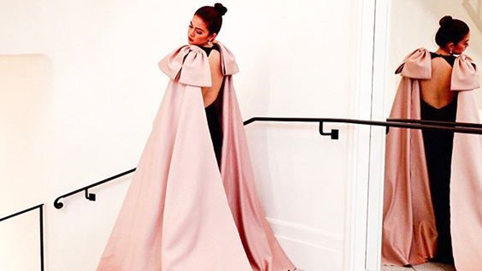 We're Loving Shaina Magadayao's Statement Bows For The Cannes Red Carpet