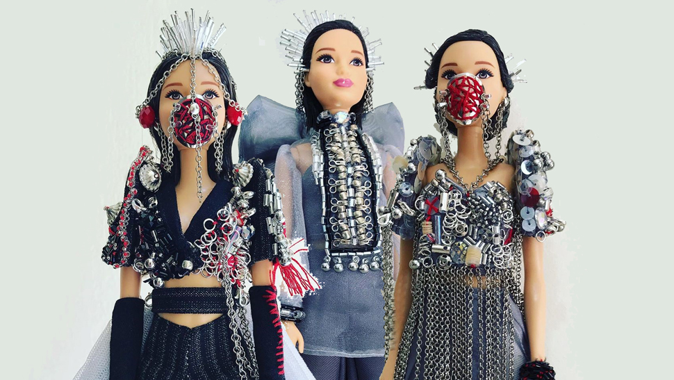 You Have To See These Barbie Dolls Dressed In Modern Filipiniana