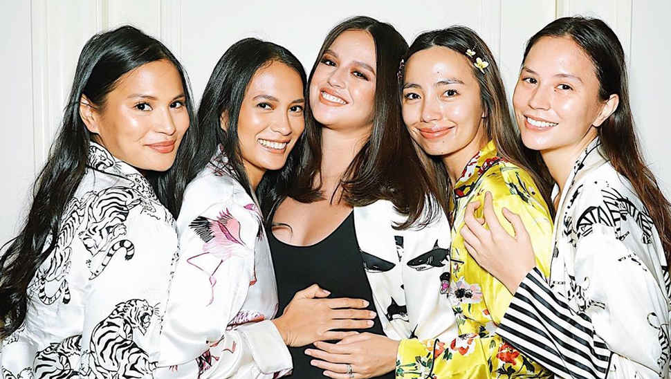 Georgina Wilson Just Had The Chicest Pajama-themed Baby Shower