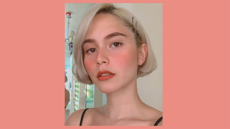 You Have to See Jessy Mendiola's New Rose Gold Hair Color