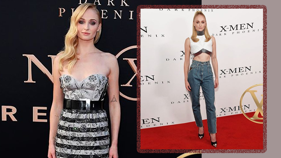 "Sophie Turner Is Totally Slaying ""dark Phoenix"" With Her Red Carpet Looks"