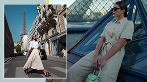 You Have To See Sarah Lahbati's Chic Ootds In Paris