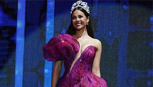 Catriona Gray Wore Not Just One But Two Sparkling Gowns To Bb. Pilipinas
