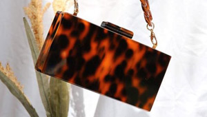 Where To Buy Those Instagram Famous Resin Tortoiseshell Bags