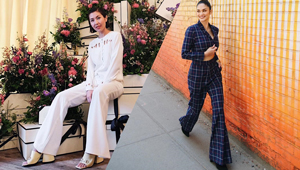 6 Celebrity-approved Ways To Wear Wide-legged Pants At Work