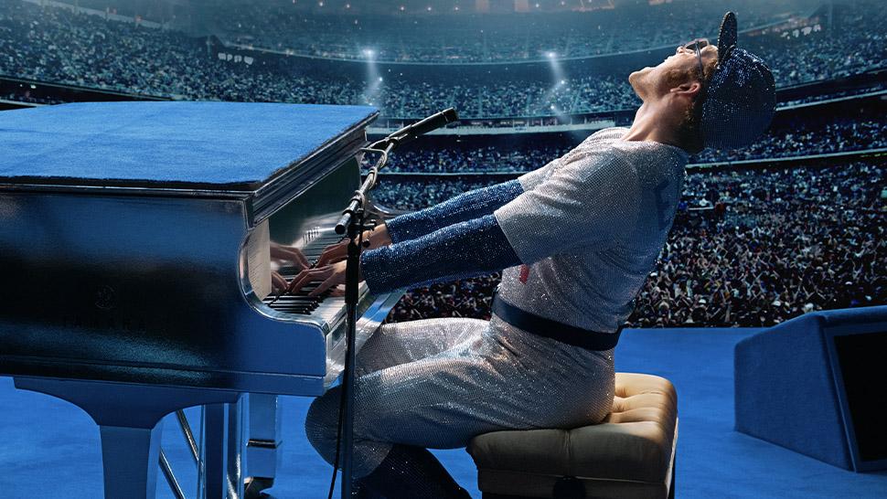 "Elton John Gave Taron Egerton A Gift While Filming ""rocketman"""