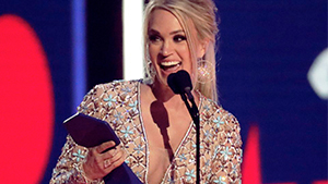 Carrie Underwood Named Best Dressed While Wearing Michael Cinco