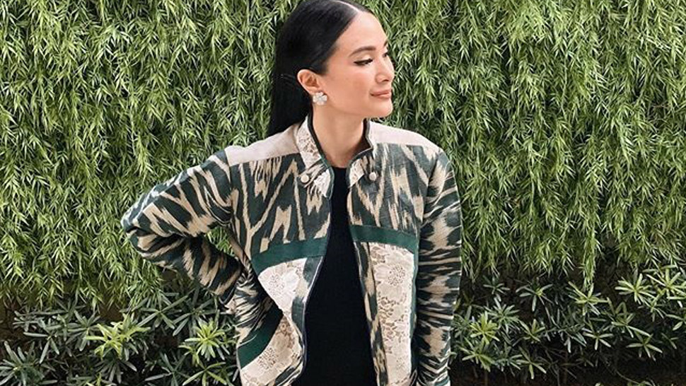 Heart Evangelista Just Showed Us A Chic Way To Wear Philippine Weaves