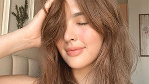 You Won't Be Able To Guess Sofia Andres' Secret To Healthy, Shiny Hair