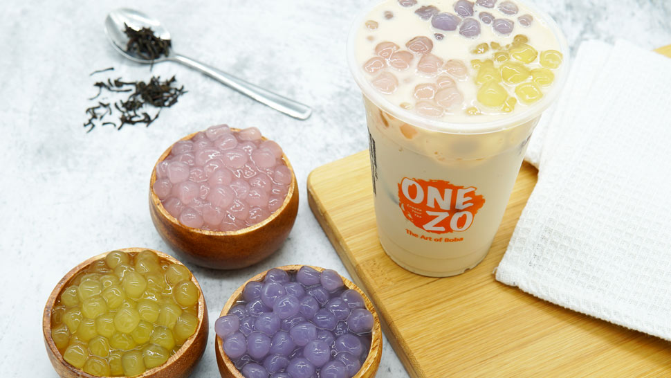 This Newly Opened Milk Tea Shop Offers Flavored Pearls
