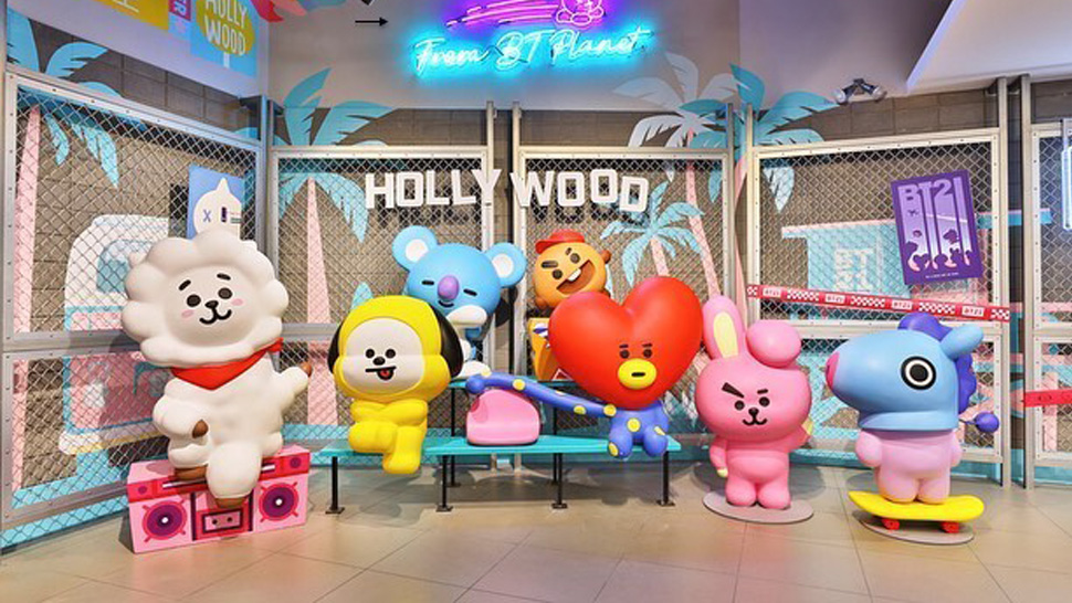 We Spotted A Store In Shangri-la Plaza Where You Can Shop Bt21 Goodies