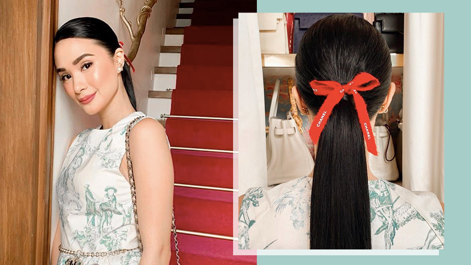 Heart Evangelista Has The Chicest Way To Wear A Ponytail