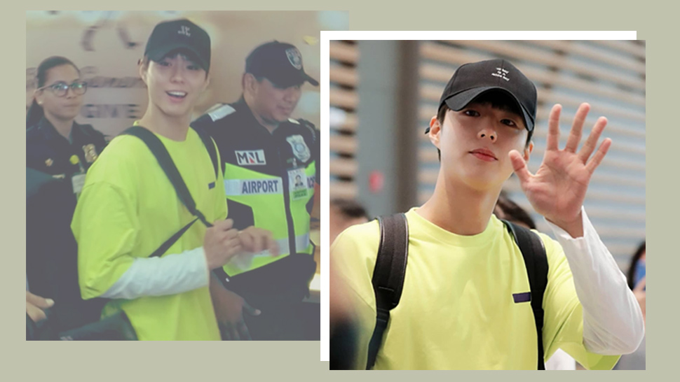 K-Drama Actor Park Bo Gum Has Arrived in Manila