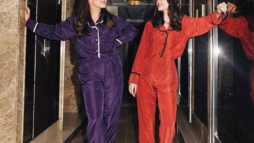 10 Pairs Of Pajamas That Will Look Chic In Bed And For A Night Out