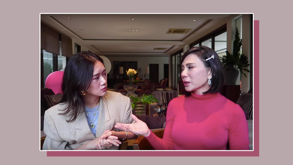 Camille Co Takes Beauty Lessons From Dr. Vicki Belo