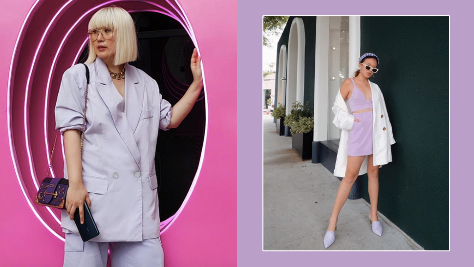 Here's How Fashion Girls Are Wearing the Ube Trend
