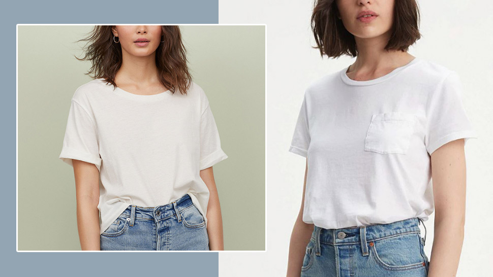 10 Plain White T-Shirts You Need in Your Closet Right Now