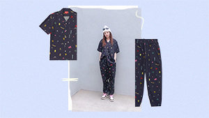 We Found The Exact Printed Pajamas Sandara Park Wore On Instagram