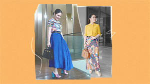 Jinkee Pacquiao Wore Pieces From Heart Evangelista's Kamiseta Collection
