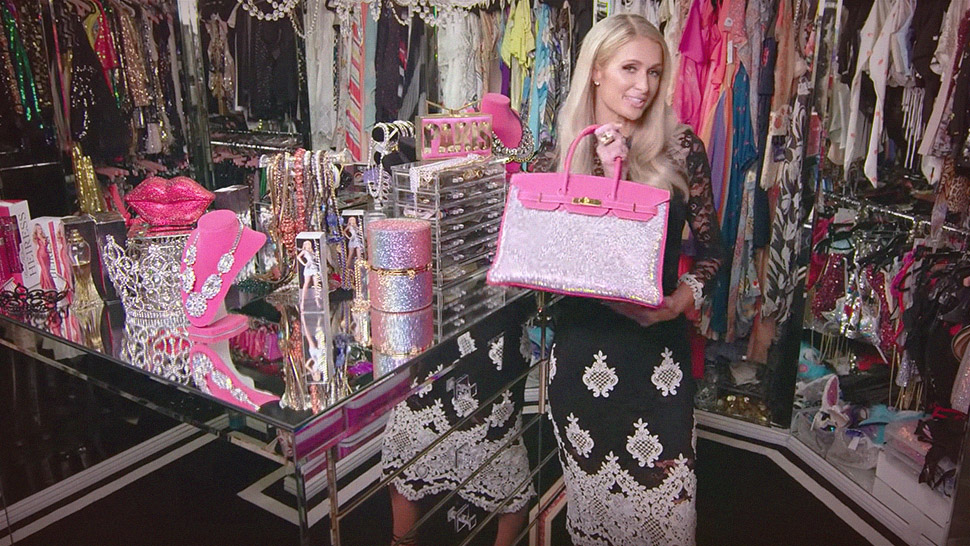 You Won't Believe How Extravagant Paris Hilton's Walk-in Closet Is