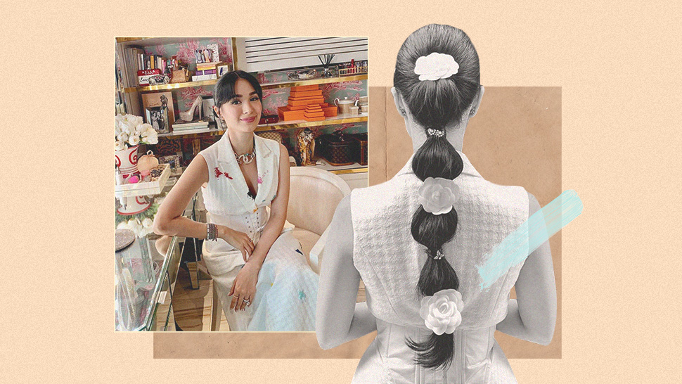 Heart Evangelista's Fancy Ponytail Was Featured On Harper's Bazaar