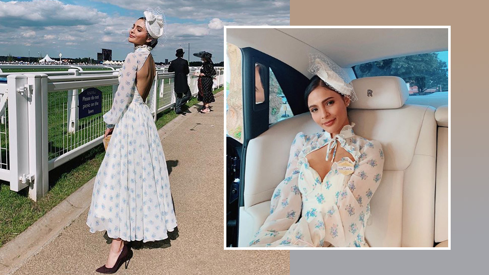 Lovi Poe Looked Every Bit A Lady At London's Royal Ascot Event