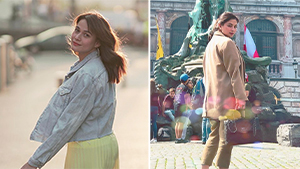 You Have To See Bea Alonzo And Angel Locsin's Chic Belgium Ootds