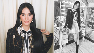 Heart Evangelista Is Giving Us Blair Waldorf Vibes In Her Recent Ootd