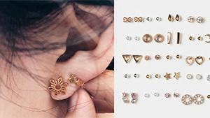 10 Tiny Stud Earrings That You Can Mix And Match
