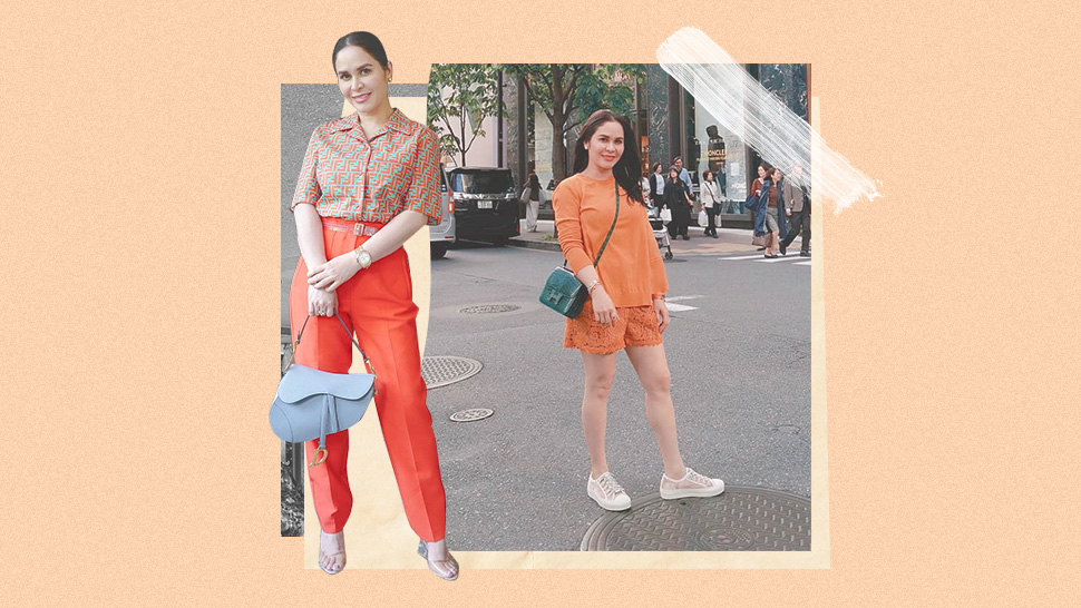 5 Jinkee Pacquiao OOTDs That Will Make You Want to Wear Orange