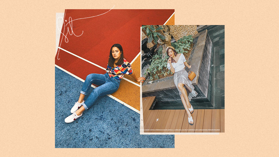 This Is The Cool New Sitting Pose That Influencers Are Doing On Instagram