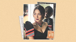 Kathryn Bernardo Looked Gorgeous In A Modern Terno Featuring Local Weaves