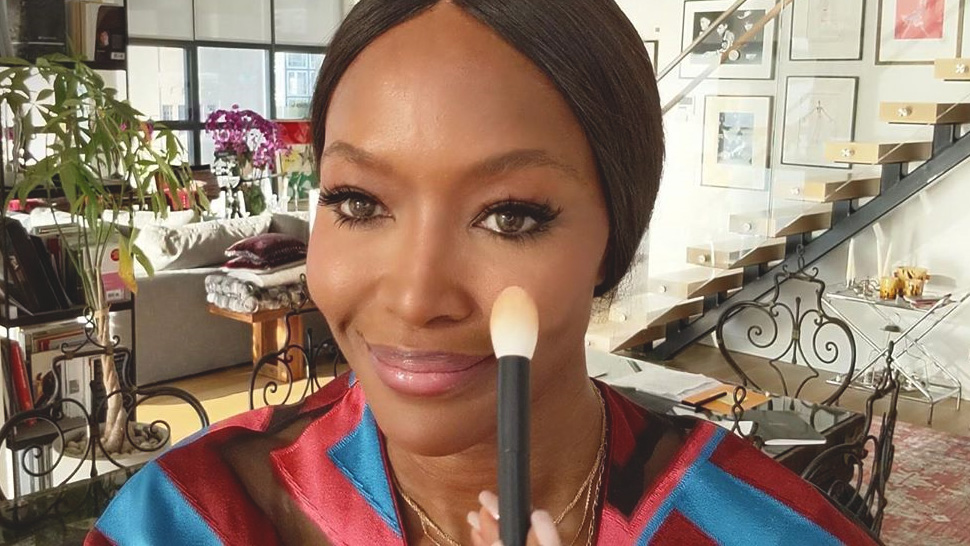 This Supermodel's Blush Trick Will Make You Look Younger