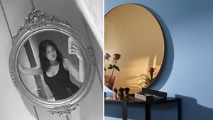 This Round Mirror Is What You Need To Elevate Your Instagram Selfies
