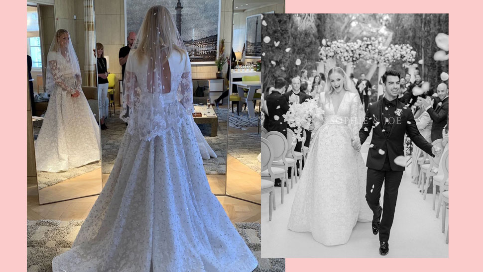 You Have to See Sophie Turner's Louis Vuitton Wedding Dress
