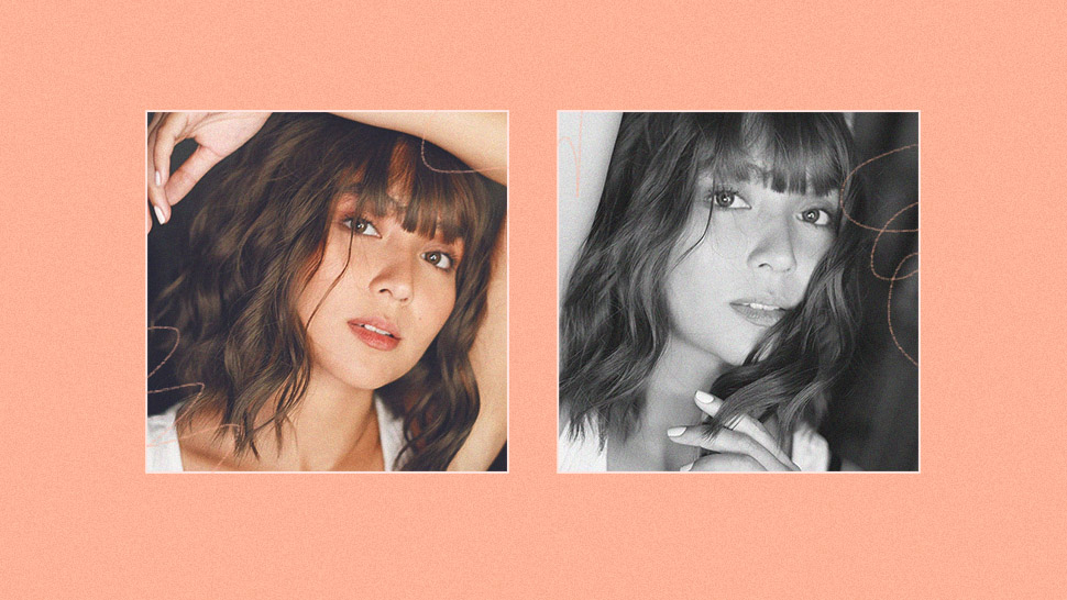 7 Ways To Pose With Your Hair, According To Kathryn Bernardo
