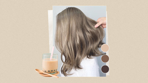 Milk Tea Hair Color Is A Thing, And Here's How You Can Achieve It