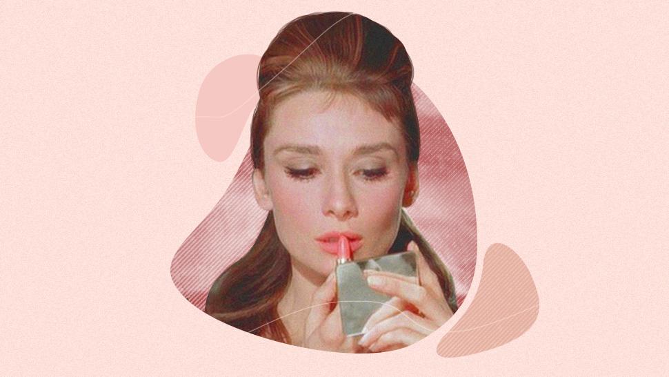 This Makeup Artist Bought A Piece Of Audrey Hepburn's Lipstick