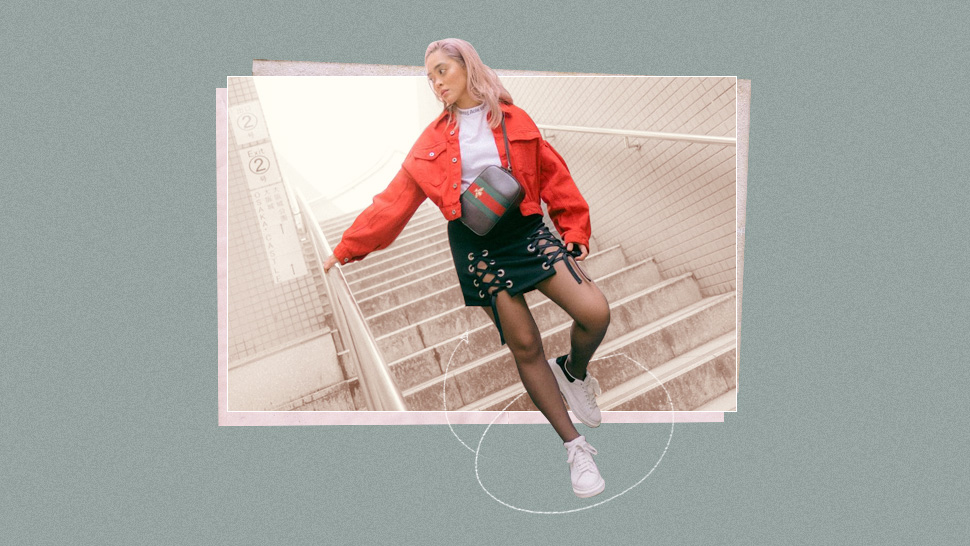 "8 Skirt and Sneakers Combo for When You Feel Like You Have ""Nothing to Wear"""