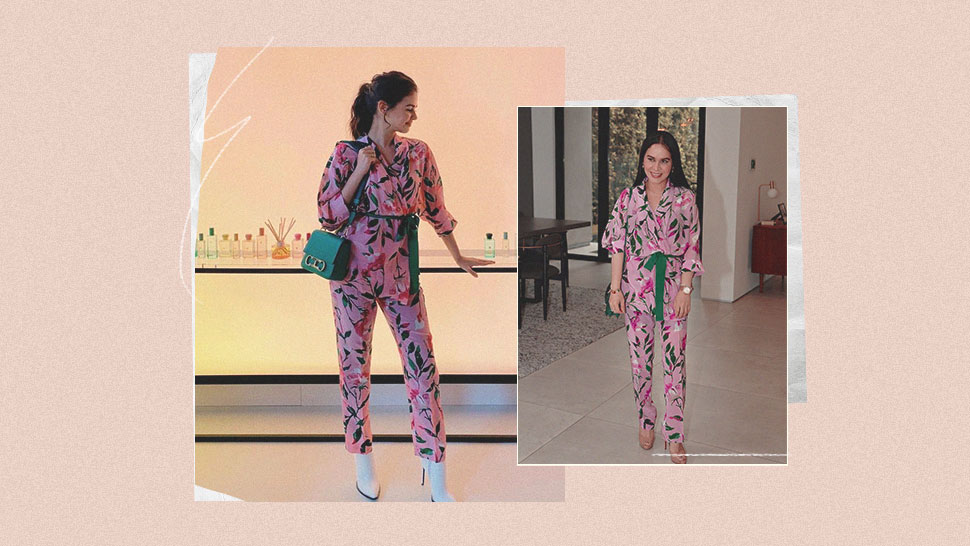 You Have to See Jinkee Pacquiao and Janine Gutierrez's Matchy Floral OOTD