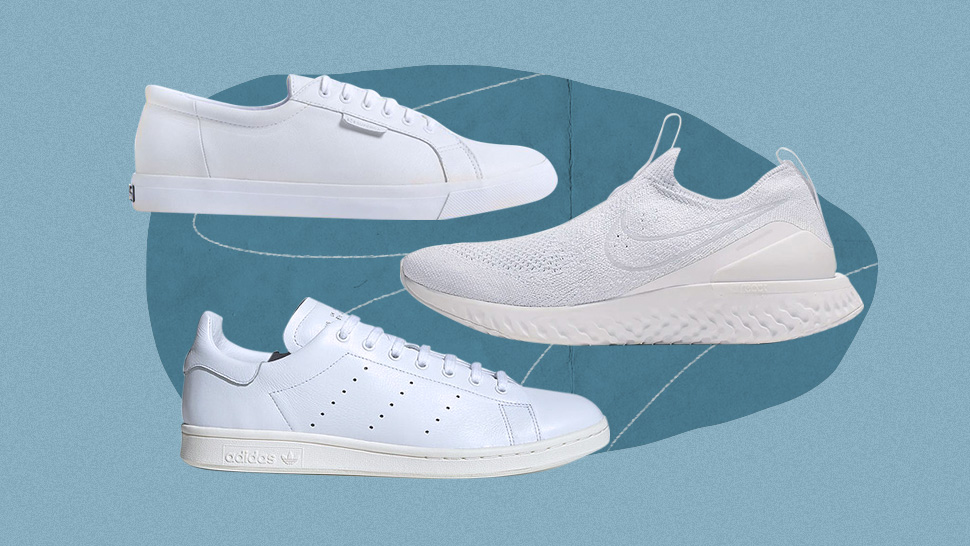 10 Fresh White Sneakers That Will Go With All Your Ootds