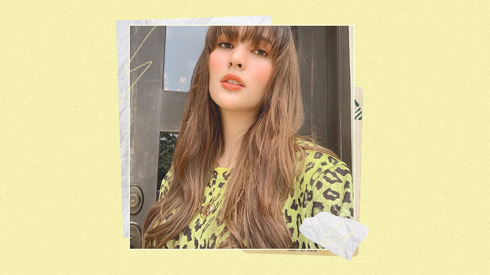 Sofia Andres' New Hairstyle Will Convince You To Finally Get Bangs