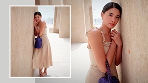 We Found The Exact Linen Dress Yam Concepcion Wore In Her Dubai Ootd