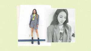 Sandara Park Has A Non-intimidating Way To Wear The Neon Trend