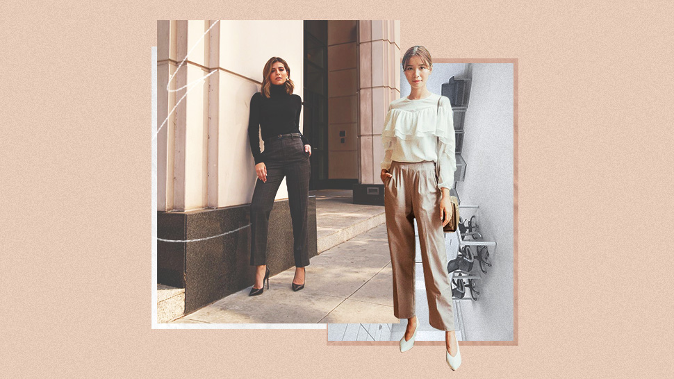 8 Easy Top-and-Pants Combos Every Career Girl Should Master