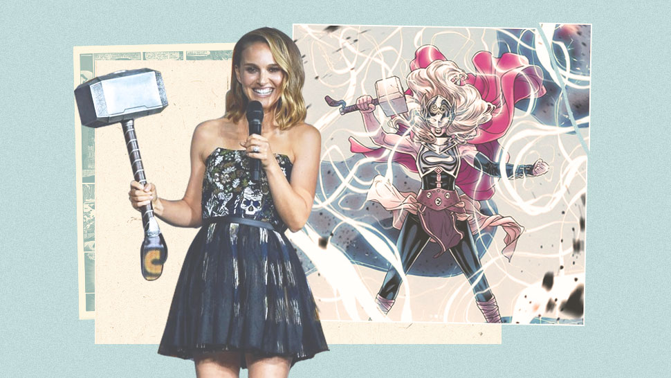 "Natalie Portman Will Soon Wield the Hammer as Marvel's Female ""Thor"""