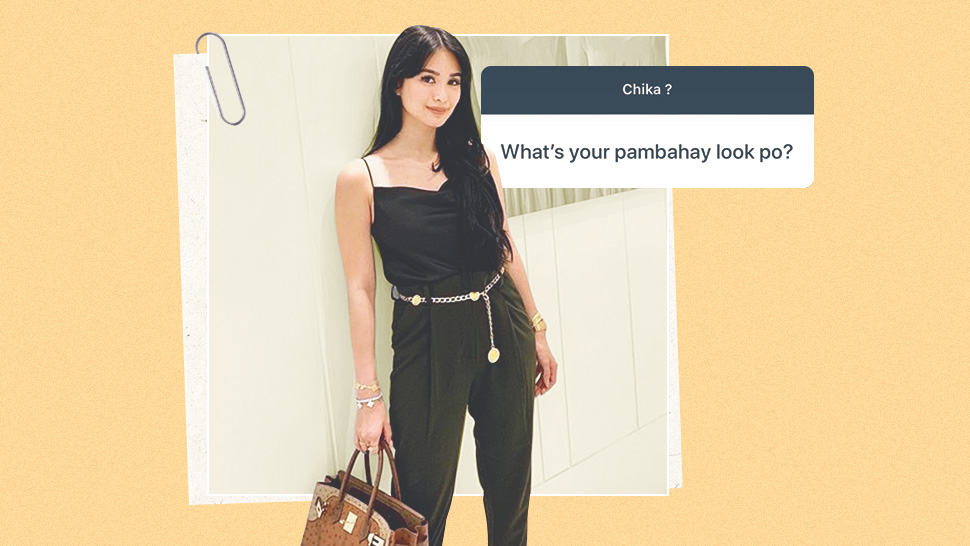 "Heart Evangelista Had The Best Response When Asked About Her ""pambahay Look"""